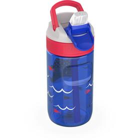 Kambukka Lagoon Bottle 400ml Kids, captain whale